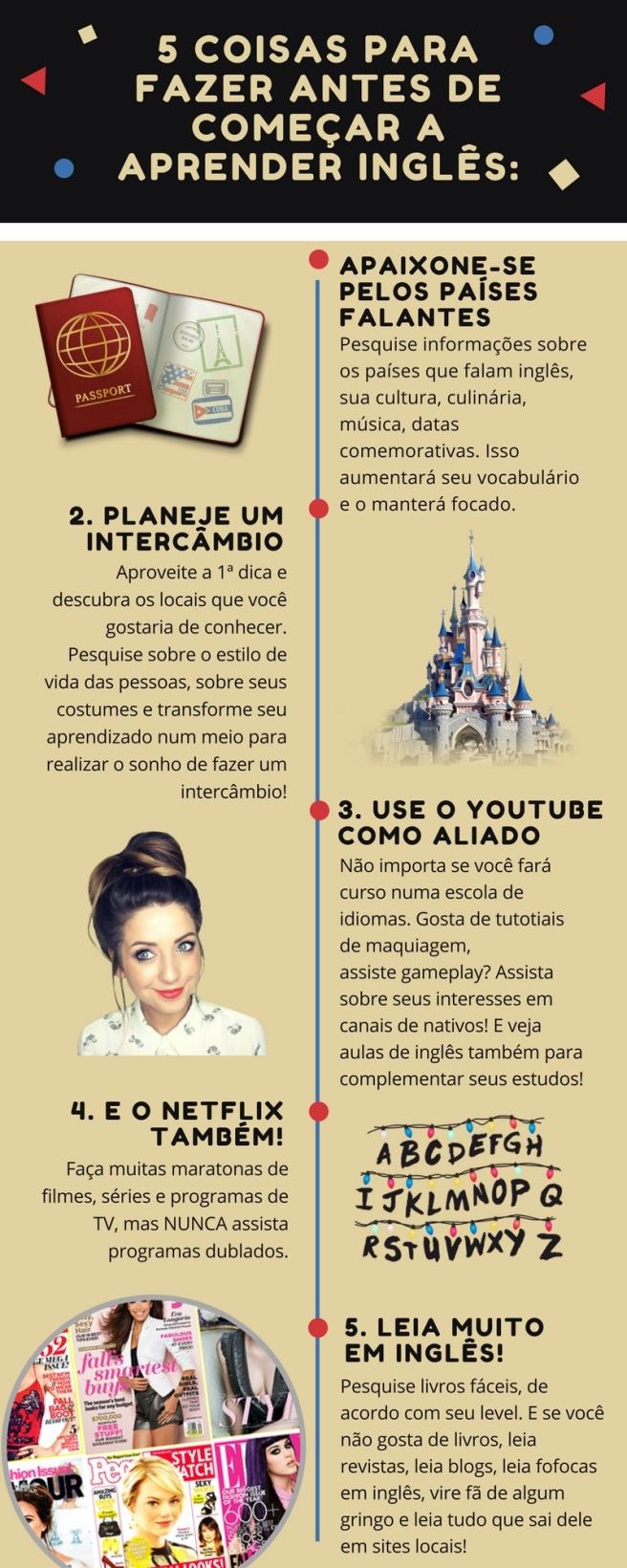 Coisas para fazer antes de aprender inglês_